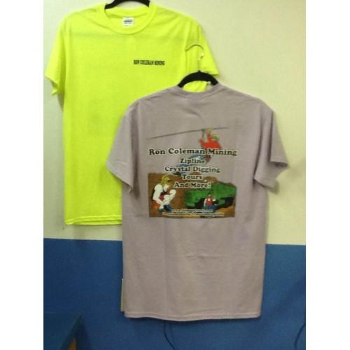 3x ron coleman mining t shirts for sale coleman quartz for 3x shirts on sale